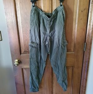 Mossimo Olive Cargo Joggers